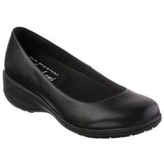 Skechers for Work Women's Mina Slip-On, Black