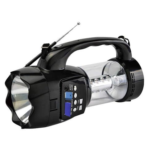 Emergency Flashlight Radio With USB