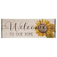 *Welcome to Our Home Sign