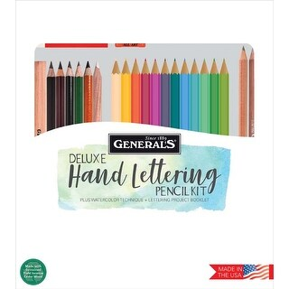 - Deluxe Pencil Arts Kit 24/Pkg
