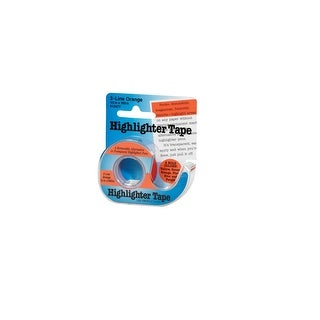 Lee Removable Highlighter Tape Refill, 1/2 X 393 in, Orange