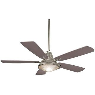"MinkaAire Groton 56"" 5 Blade Indoor / Outdoor Ceiling Fan with Blades, Hand Held Remote Included"