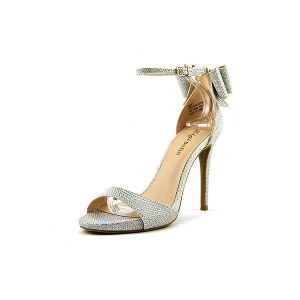Zigi Soho Remi Women Open Toe Synthetic Silver Sandals