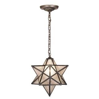 "Meyda Tiffany 21840 Single Light 12"" Wide Pendant with Handmade Shade"