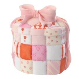 Cherished Teddies Qulted Heart Box Keepsake Box (A Heart Full of Love)