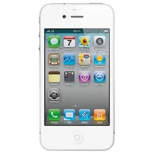 Apple iPhone 4 8GB Unlocked GSM Phone - White (Certified Refurbished)
