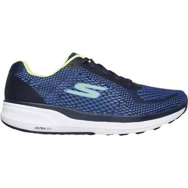 Shop Skechers Men's GOrun Pure Running Shoe BlueLime