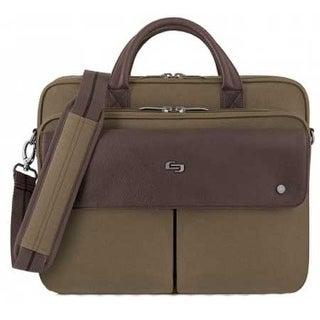 Solo Executive Briefcase, Khaki Executive Briefcase