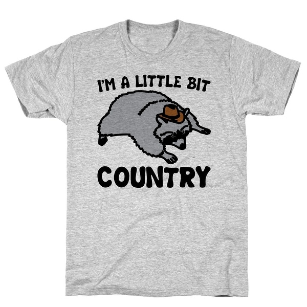 30609ab1 Shop LookHUMAN I'm A Little Bit Country She's A Little Bit Garbage Pairs Shirt  Athletic Gray Men's Cotton Tee - Free Shipping On Orders Over $45 -  Overstock ...
