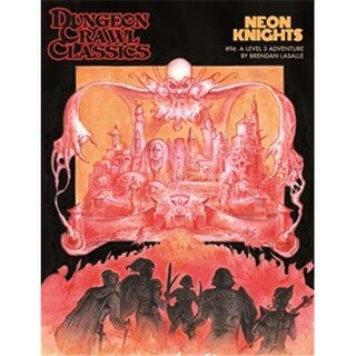 Goodman Games GMG5095 Dungeon Crawl Classics 94 Neon Knights Game
