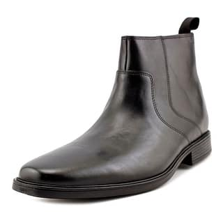 Clarks Narrative Tilden Zip Men Round Toe Leather Black Bootie|https://ak1.ostkcdn.com/images/products/is/images/direct/f2cdefe470a12aec57499de89e02a90bb810039f/Clarks-Narrative-Tilden-Zip-Men-Round-Toe-Leather-Bootie.jpg?impolicy=medium