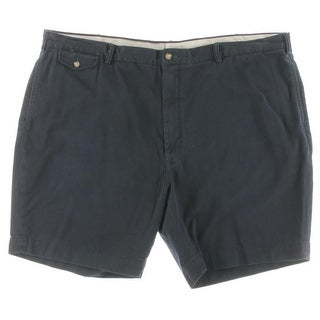 Polo Ralph Lauren Mens Big & Tall Classic Fit Cotton Khaki, Chino Shorts - 50b