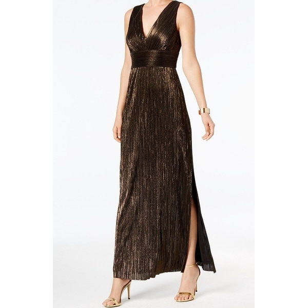 ffce5340946 Shop Jessica Howard Black Womens Size 12 Shimmer V-Neck Maxi Dress - On  Sale - Free Shipping Today - Overstock - 27011526