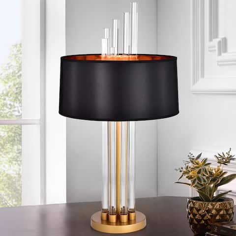 Trawbusaw Matte Gold with 1 Light Bulb Table Lamp