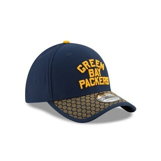 Green Bay Packers 39THIRTY 2017 OnField Sideline Hat, Navy