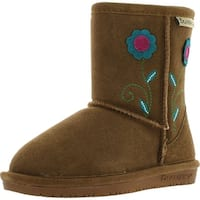 Bearpaw Girls Buttercup 1695T Fashion Boots - Hickory - 11 m us little kid