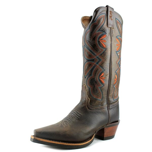 Tony Lama 3R2301L   Pointed Toe Leather  Western Boot