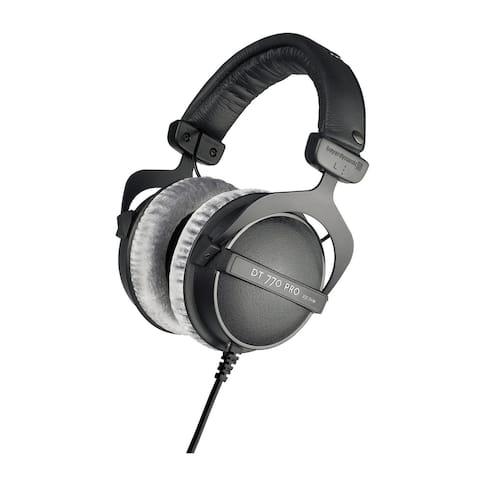 Beyerdynamic DT 770 PRO 80 Ohm Over-Ear Studio Headphones (Black)
