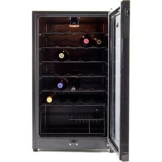 Equator-Midea WR-144-35 35 bottles Wine Cooler Black - Capacity: 3.9 cu.ft.