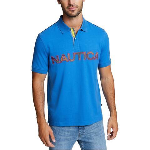 Nautica Mens Kauai Rugby Polo Shirt