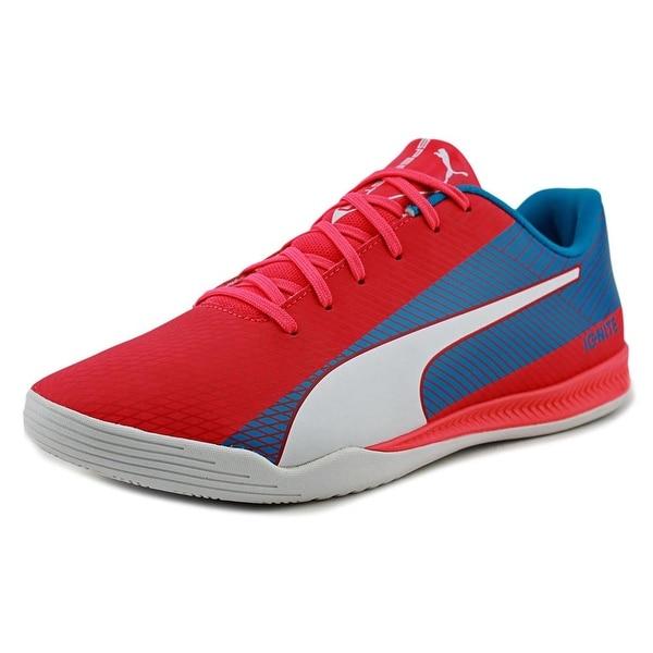 Puma evoSpeed Star S Ignite Men Round Toe Synthetic Multi Color Sneakers