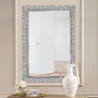 Link to Mirror Trend Framed Mosaic Accent Mirror Similar Items in Decorative Accessories