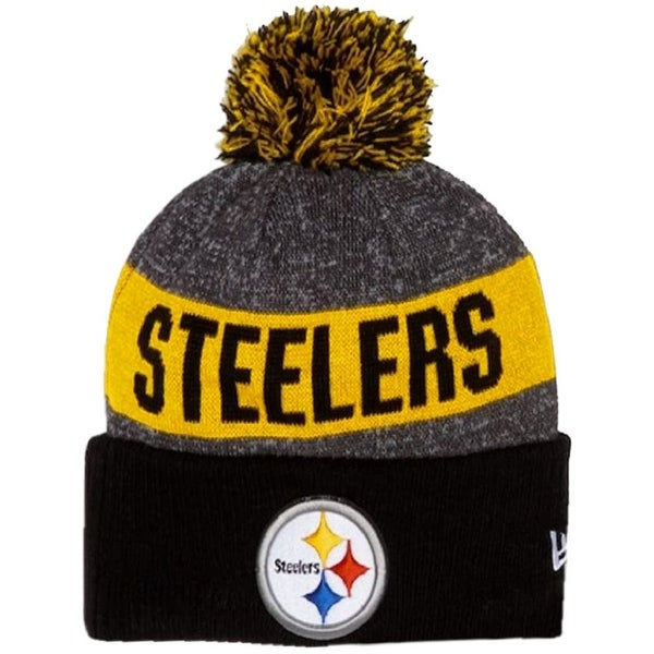 Shop New Era Pittsburgh Steelers Beanie Sideline Knit Cap Hat NFL Team  Sport 11289062 - Free Shipping On Orders Over  45 - Overstock - 17743824 f207abd0a8f