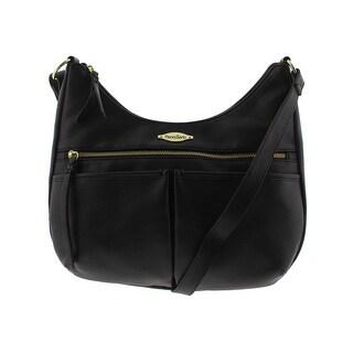 Franco Sarto Womens Eliza Shoulder Handbag Faux Leather Signature - Medium (2 options available)