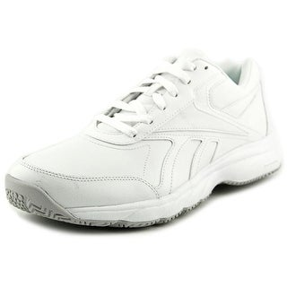 Reebok Work 'N Cushion Round Toe Leather Work Shoe