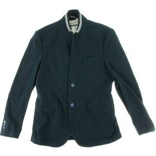 Zara Collection Mens Woven Single Vent Casual Blazer