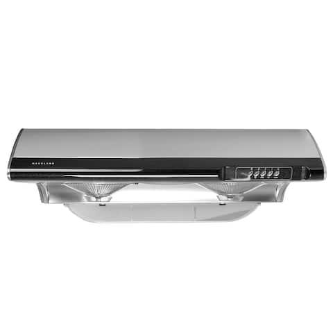 "Hauslane C190 30"" Under Cabinet Range Hood 750 CFM, Stainless Steel, 3 Way Venting - 30"