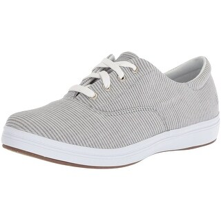 Grasshoppers Womens Janey Fabric Low Top Lace Up Fashion Sneakers