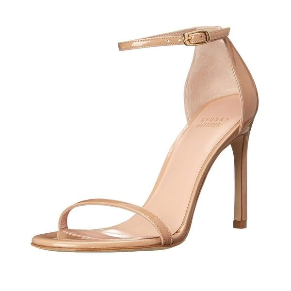 5a078fc66 Shop Stuart Weitzman Nudistsong High Heel Sandals Adobe Aniline - 6 ...