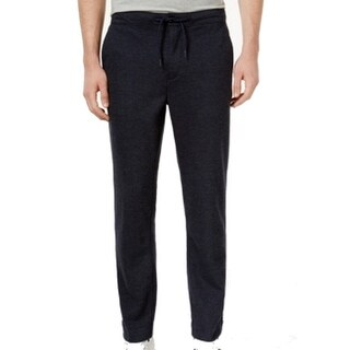 Tommy Hilfiger NEW Blue Mens Small S Jogger Striped Drawstring Pants