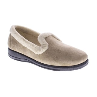 Women's Isla Loafer-Style Suede Slippers|https://ak1.ostkcdn.com/images/products/is/images/direct/f2db25f582dfefd68c26407ed8473fed6871f571/Women%27s-Isla-Loafer-Style-Suede-Slippers.jpg?impolicy=medium