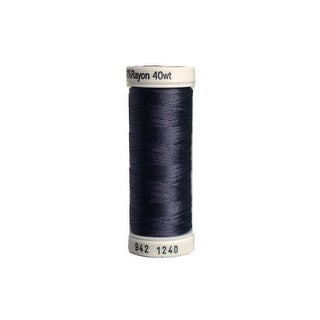942 1240 Sulky Rayon Thread 40wt 250yd Smokey Grey