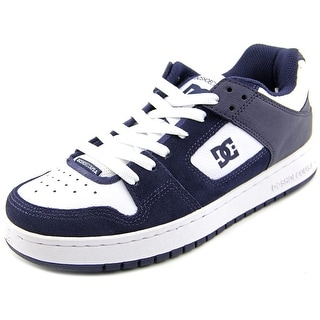DC Shoes Manteca Round Toe Leather Skate Shoe