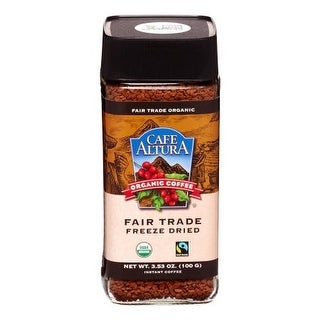 Cafe Altura Freeze Dried Instant 3.53 Oz (Pack Of 6)