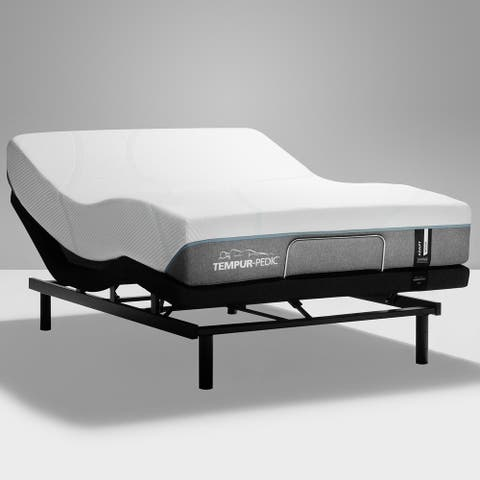 TEMPUR-Adapt 11-inch Medium Mattress and Ergo Adjustable Bed Set