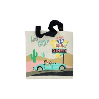 38601 Molly Rex Road Trip Canvas Tote Bag