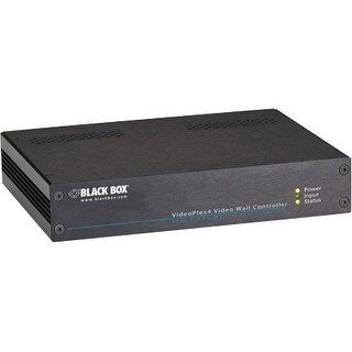 Black Box VSC-VPLEX4 Black Box VideoPlex4 4K Video Wall Controller - DVI In - DVI Out - USB