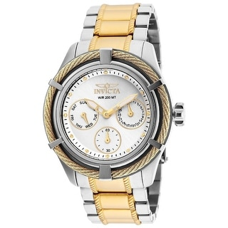 Link to Invicta Women's 24455 'Bolt' Gold-Tone and Silver Stainless Steel Watch - Multi Similar Items in Women's Watches