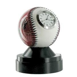Minnesota Twins Baseball Desk Clock