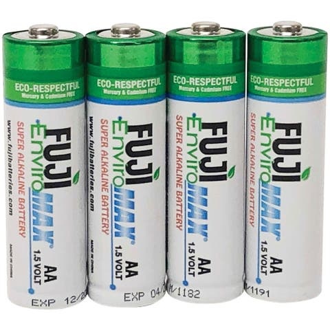Fuji Batteries 4300BP4 EnviroMax AA Digital Alkaline Batteries (4 pk)