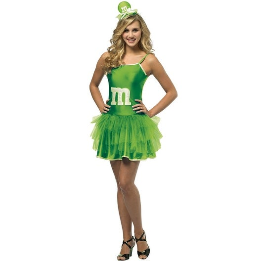 36efce04d3b Shop Rasta Imposta M M S Green Party Dress Teen Costume - Solid - Free  Shipping On Orders Over  45 - Overstock - 15421187
