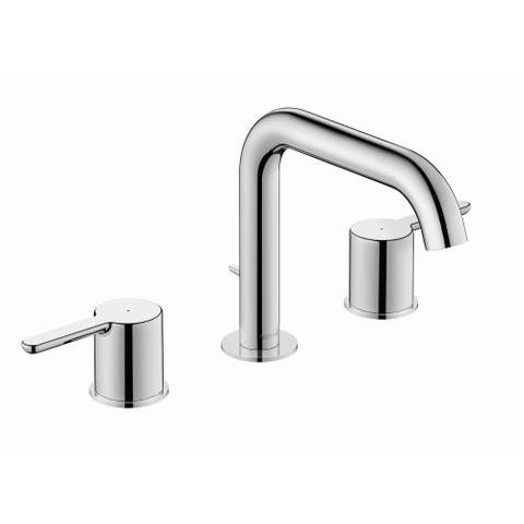 Duravit C11060-LONG C.1 1 GPM Widespread Bathroom Faucet with Pop-Up - Chrome