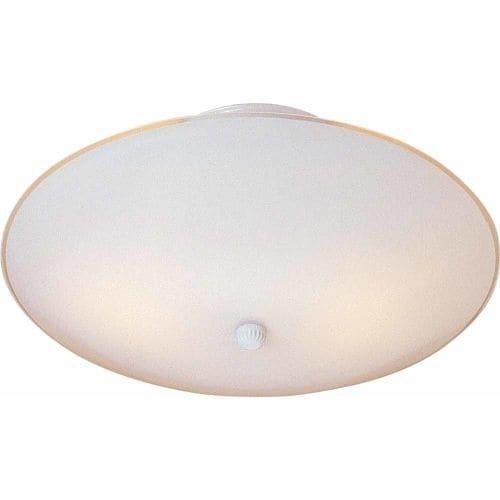 Volume Lighting V1911 2 Light Semi-Flush Ceiling Fixture with Dome Shade