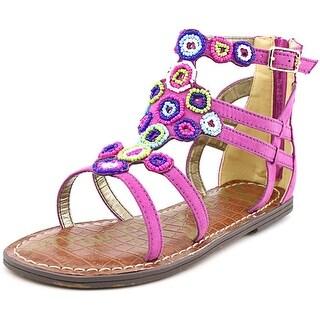 Sam Edelman Bella Youth Open Toe Synthetic Purple Gladiator Sandal