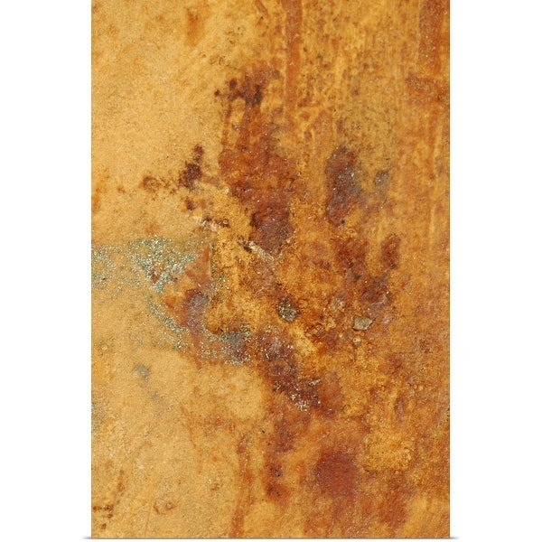 """""""Close-up of rusted surface"""" Poster Print"""