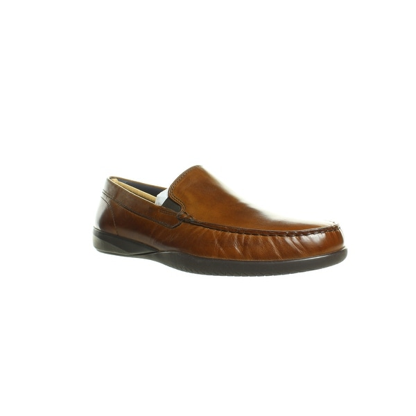 British Tan Loafers Size 9.5